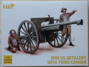 HaT 1/72 HAT8158 US Artillery (WW1)